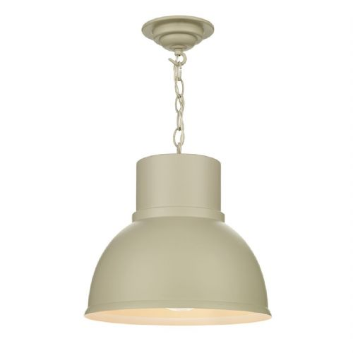 Shoreditch 1 Light Pendant Large Cotswold Cream (Hand made, 7-10 day Delivery)